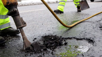 Pothole Repairs in Scampton
