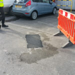 pothole repair service Beaumont Leys